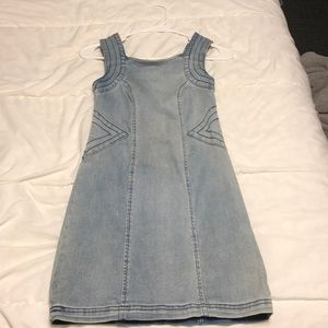 Fitted Jean Dress